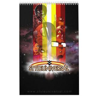 Calendario 2011 del carácter