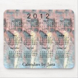 calendario 2012 3D Alfombrilla De Ratón