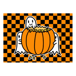 Calendario 2012 del bolsillo de los fantasmas y de tarjetas de visita