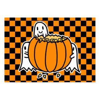 Calendario 2012 del bolsillo de los fantasmas y de tarjetas de visita grandes