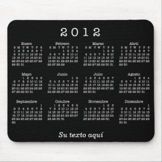 Calendario 2012 Españoles Alfombrilla De Ratón