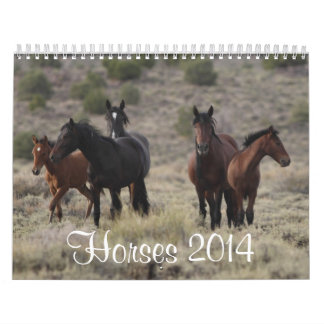 Calendario 2014 del caballo