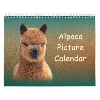 Calendario 2017 de la alpaca