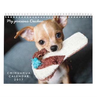 Calendario 2017 de la chihuahua sus fotos de