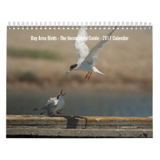 Calendario 2017 de la foto de los pájaros del área