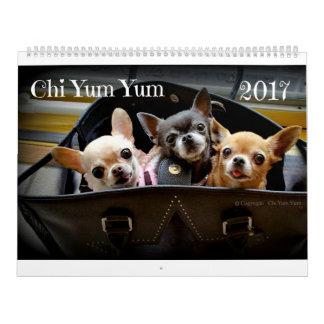 Calendario 2017 de la ji Yum Yum