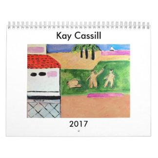 CALENDARIO 2017 DEL ARTE DE KAY CASSILL