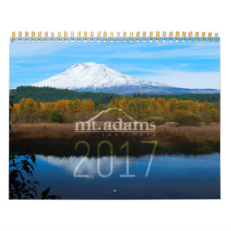 Calendario 2017 del instituto del Mt. Adams