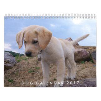 Calendario 2017 del perro con sus fotos