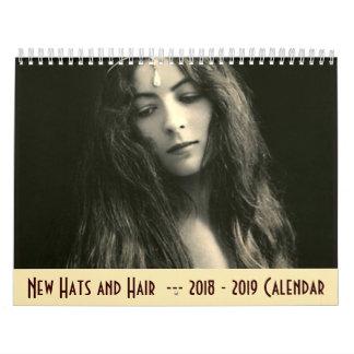 calendario 2018 - 2019 - nuevos gorras y pelos