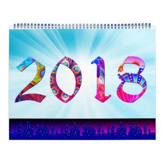Calendario 2018 con los grandes gráficos