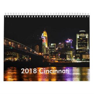 Calendario 2018 de Cincinnati