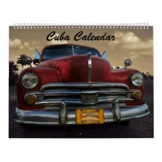 Calendario 2018 de Cuba