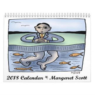 Calendario 2018 de Margaret Scott