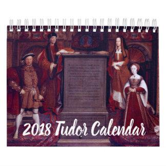 Calendario 2018 de Tudor