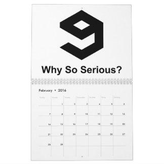 Calendario 9GAG - Negro
