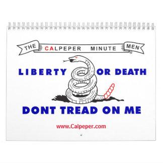 Calendario americano del patriota de Calpeper®