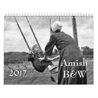 Calendario Amish B&W