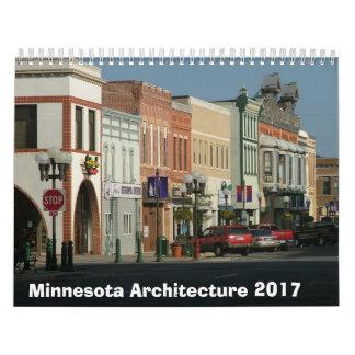 Calendario arquitectónico de Minnesota - 2017