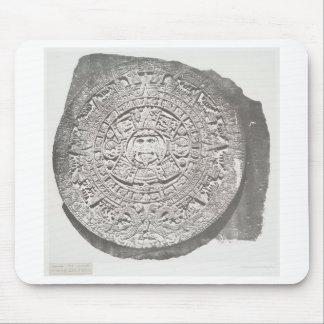 Calendario azteca 1862 alfombrilla de ratón