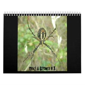 Calendario ¡Calendario - EEK! Una araña #3
