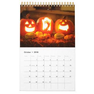 Calendario Celebración de días de fiesta mensuales