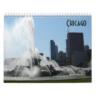 Calendario Chicago 2018