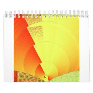 Calendario cibernético de la puesta del sol 2017