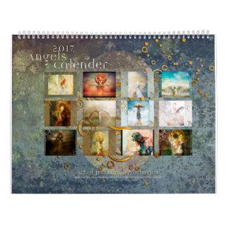 Calendario de 2017 ángeles