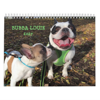 CALENDARIO DE 2017 LOUIE DE BUBBA