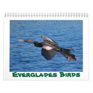 Calendario de 2018 pájaros de los marismas