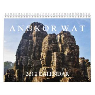 Calendario de Angkor Wat 2012