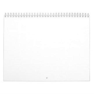 "Calendario de dos páginas, estándar, 11"" x17 """