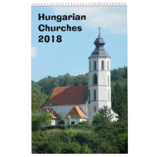 Calendario de iglesias húngaro 2018