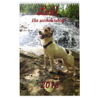 Calendario de Jackrussell