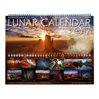 Calendario de la astronomía de las fases de la