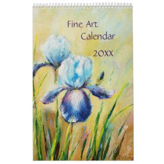 Calendario de la bella arte 2018 estaciones