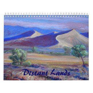 Calendario de la bella arte de las tierras