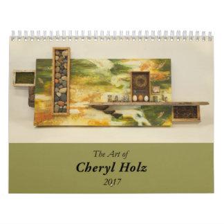 ¡Calendario de la bella arte para el amante del Calendarios De Pared