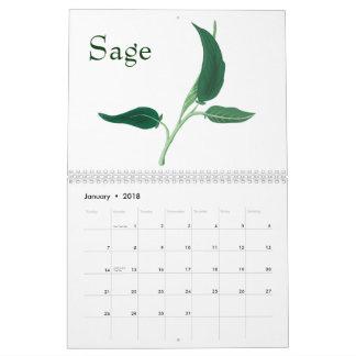 Calendario de la flora