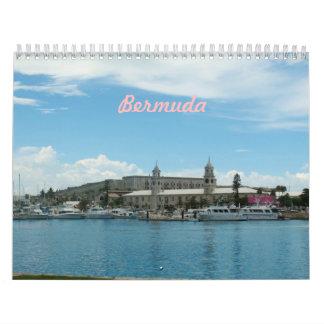 Calendario de la foto de Bermudas