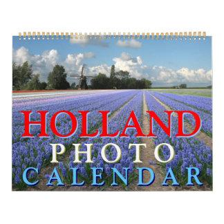 Calendario de la foto de Holanda
