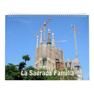 calendario de la foto de Sagrada Familia del La de