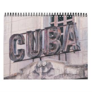 Calendario de La Habana, Cuba 2017