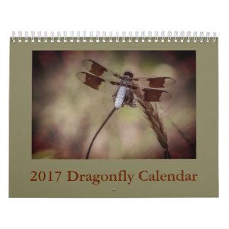 Calendario de la libélula
