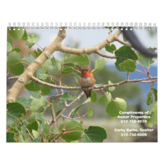 Calendario de la naturaleza de las propiedades de