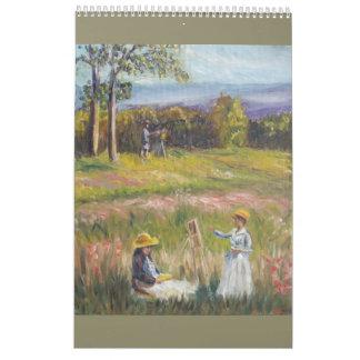 Calendario de las pinturas