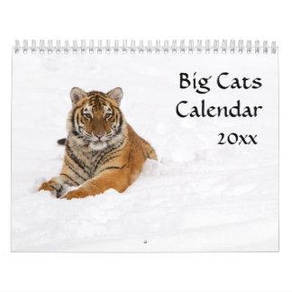 Calendario de los gatos grandes