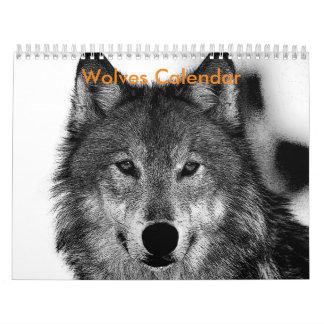 Calendario de los lobos 2017