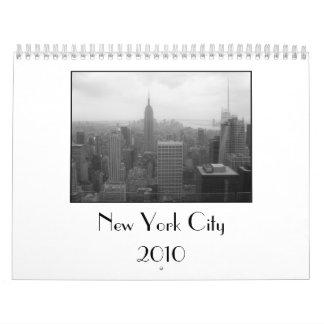 Calendario de New York City